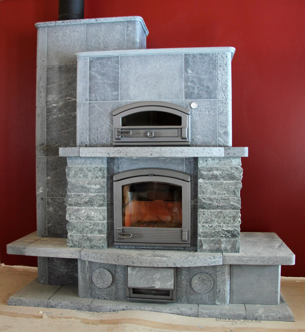 Gas fireboxes for fireplaces