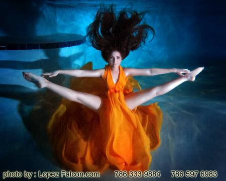 underwater sweet 15 quinceaneras