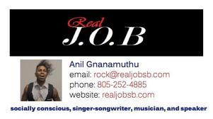 Real J.O.B Business Card