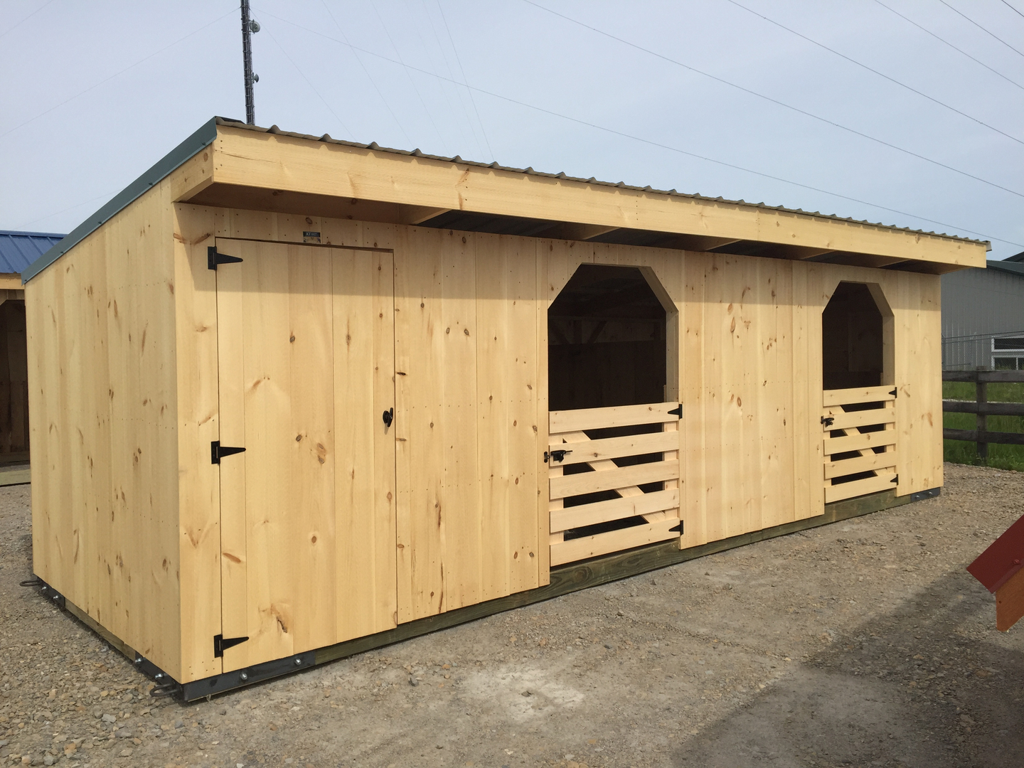 Goat Sheds - Mini Barns and Shed Construction - Millersburg Ohio