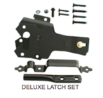 Deluxe Latch Set Hardware - Western Red Cedar Wood Fencing Company In Chicago