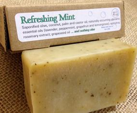 Refreshing Mint Soap
