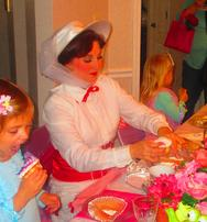 Atlanta Princess tea party