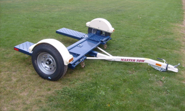 how to fix wheel on tow dolly