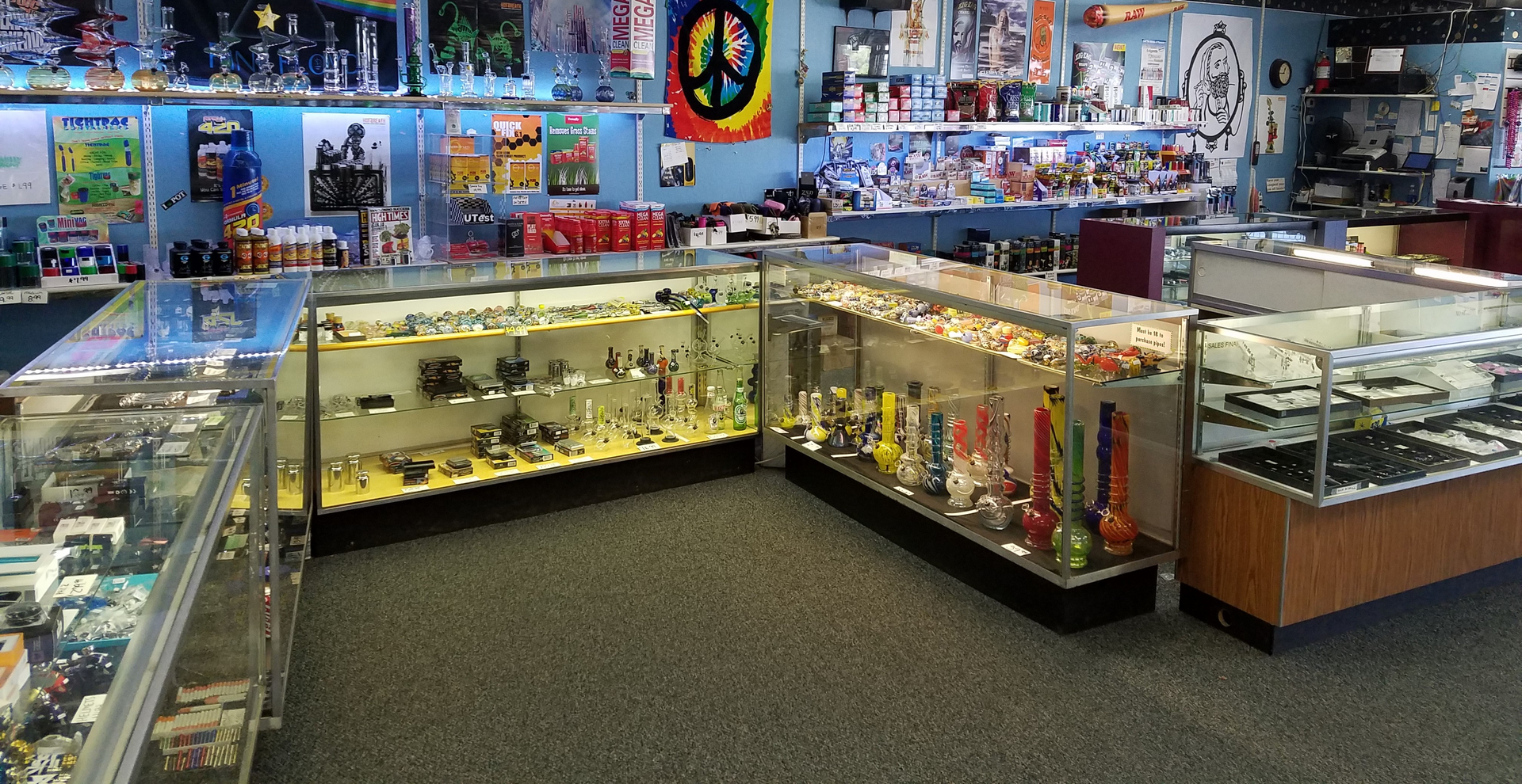 smoke shop near me open