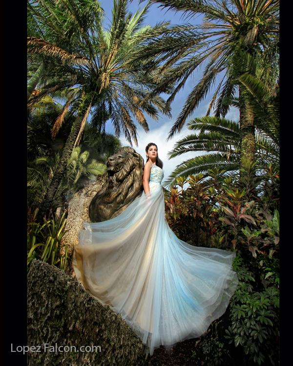 Quince Photography Miami Secret Gardens Quinces photographer