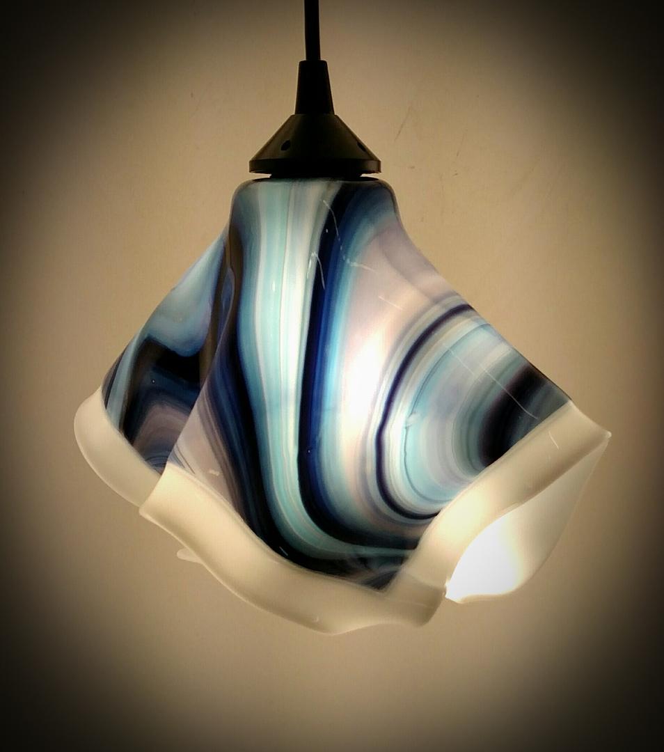 Custom art glass lighting