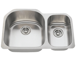 Solaris L1213 Double Bowl Stainless Steel Sink