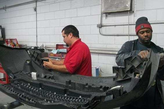 Working efficiently on repairing your vehicle