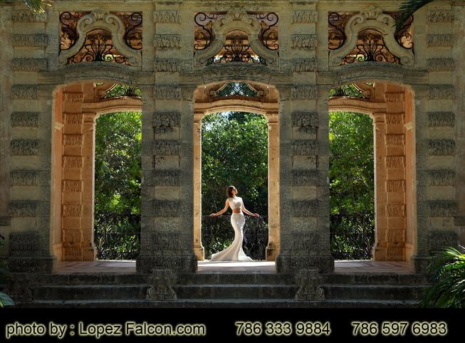 Vizcaya Miami Quinceanera Photography Quinces Dresses Dress