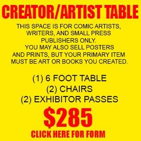 CREATOR ARTIST TABLE CONTRACT