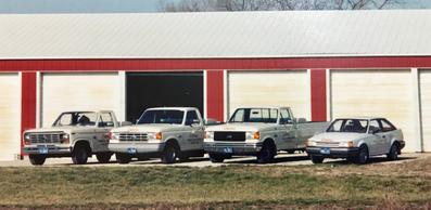 Coppes Termite and Pest Control Service at Current Location in 1980's Burlington, Iowa