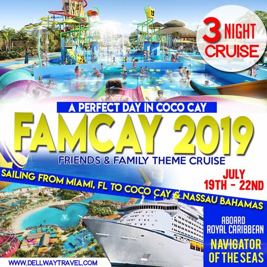 famcay 2019 perfect day in coco cay