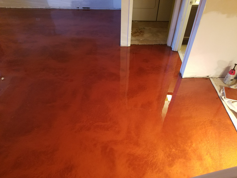 Epoxy Coatings - Sparkle garage floor paint