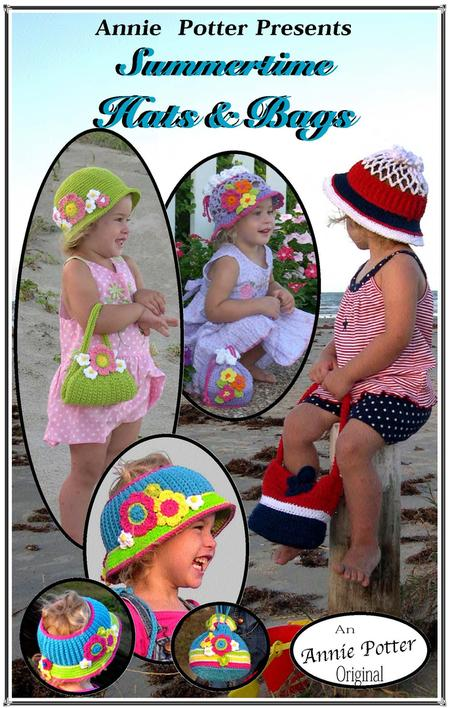 Crochet hats and bags pattern