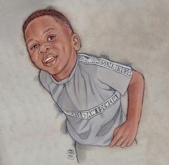 ELIJAH SEY Drawing by Cliff Carson