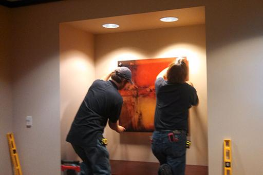 ART INSTALLATION ART HANGING SERVICES IN EDINBURG MCALLEN TX | HANDYMAN SERVICES OF MCALLEN