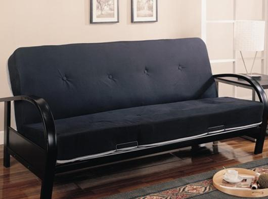 metal futon frames by coaster furniture