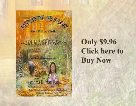 Grow Rich while Walking into the Golden Aged World (with Meditation Commentaries)