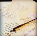 Hand lettering samples, Copperplate Script