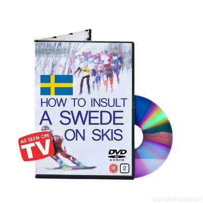How to Insult a Swede on Skis DVD