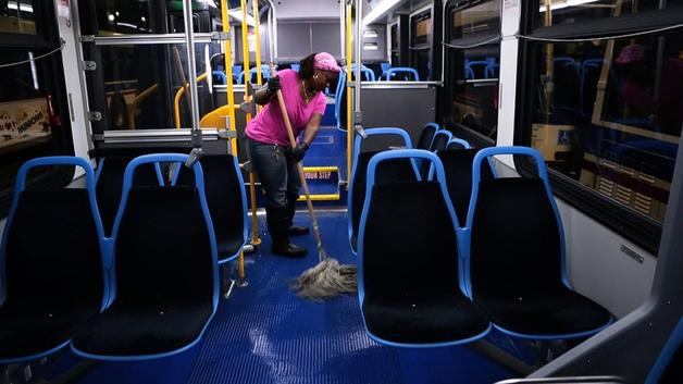Bus Cleaning Service