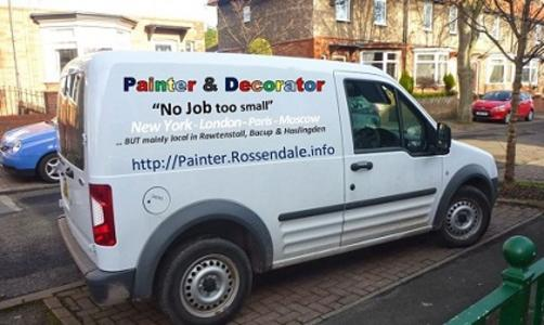 painter and decorator van pendle info