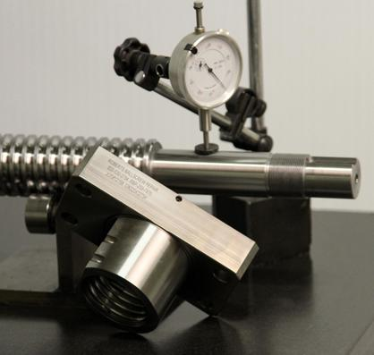 Ball Screw measuring precision