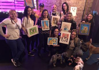 Paint Your Pet Birthday Party