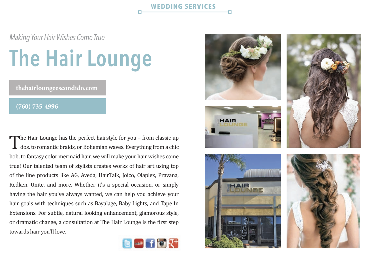 Hair stylists the hair lounge escondido ca in the escondido promenade urmus Choice Image
