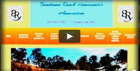 Bandanna Ranch Website Tour