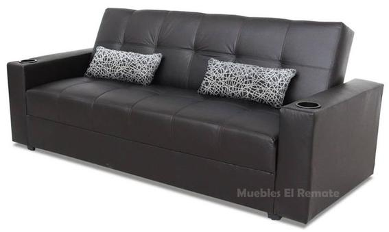Sofa cama futon sevilla tapizado en vinipiel en for Sofa cama sevilla
