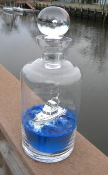 How to build a Ship in a Bottle. Easy DIY nautical craft. www.DIYeasycrafts.com