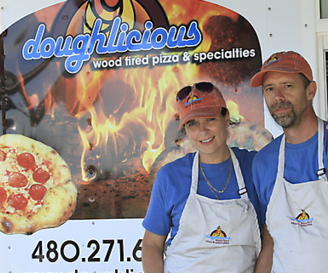 Doughlicious Pizza Foodtruck Foodtrailer