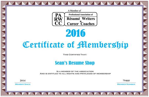 seans resume shop in downey - Professional Association Of Resume Writers