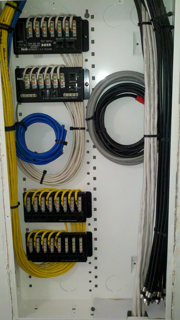 Structured Wiring Systems | AV Theater GodZ | Victorville, CA