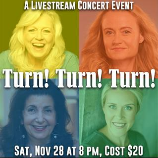 Turn! Turn! Turn! featuring Linda Kahn, Christina Connors, Maria Corsaro and Corinne Broadbent