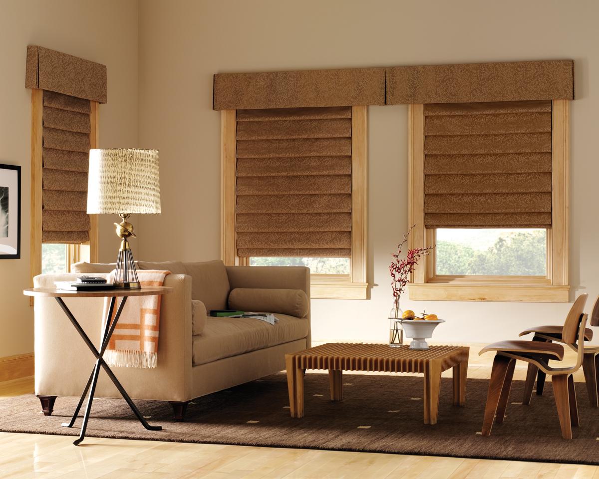 Roman window shades - Caslan Roman Shades
