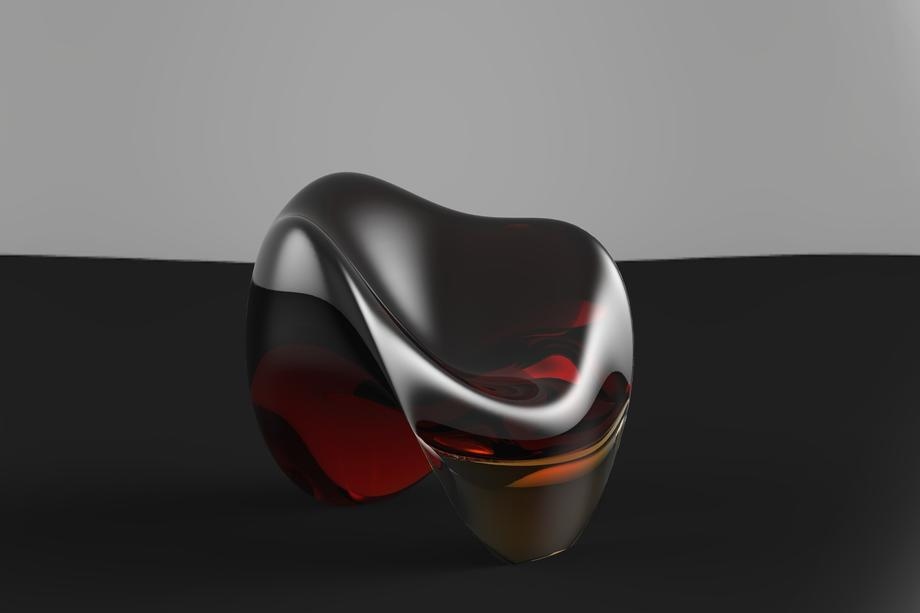 WISKY CHAIR SEDUTA POLICARBONATO LIVING MODELLAZIONE 3D MODEL PROJECT DESIGN107