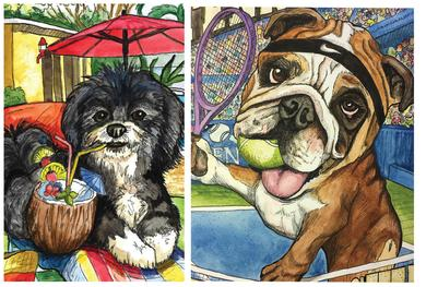 ow to paint your pets portrait