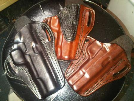 Leather Pancake Gun Holsters for Sale