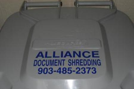 scheduled shredding service texas