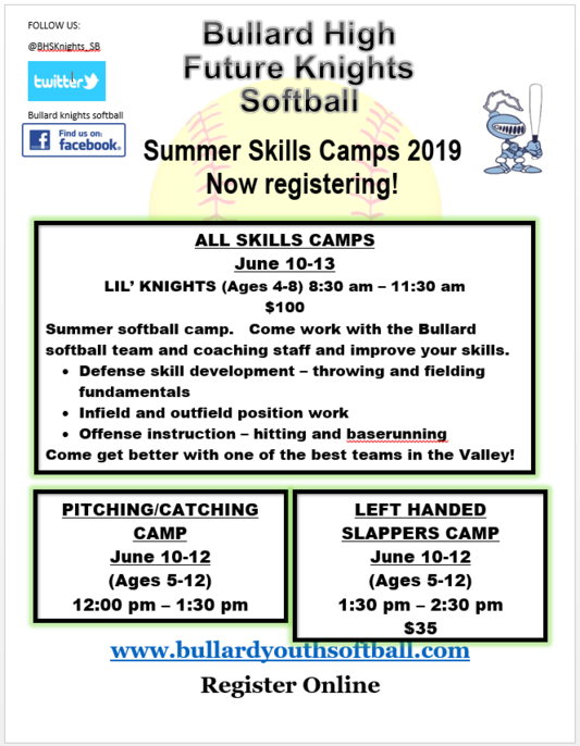 Summer Camp Registration Link