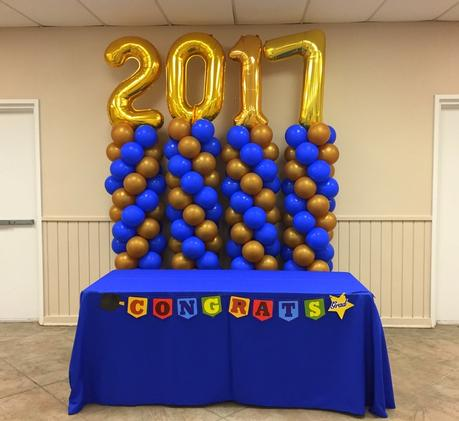 Graduation Balloon decoration
