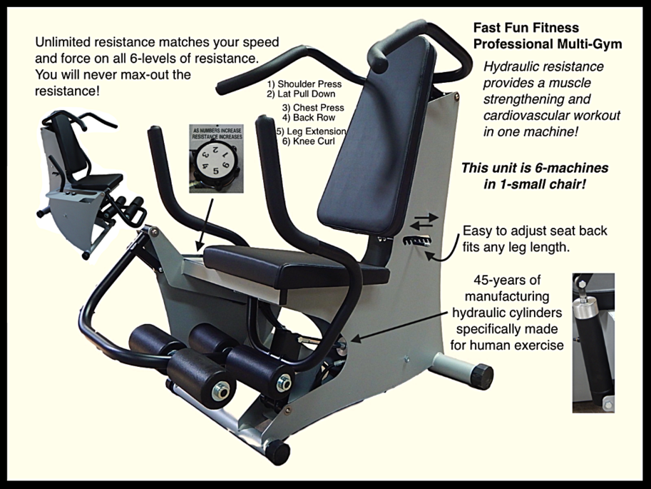 hydraulic fitness and rehab equipment multigym total power hydrafitness
