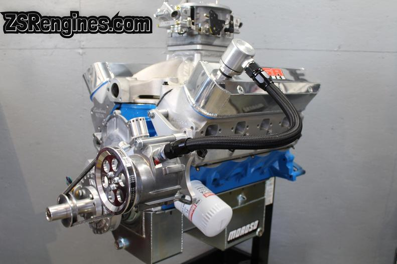 ZSR Engines - Ford Stroker Small Blocks, Engine Building