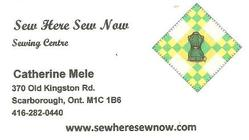 See Here Sew Now