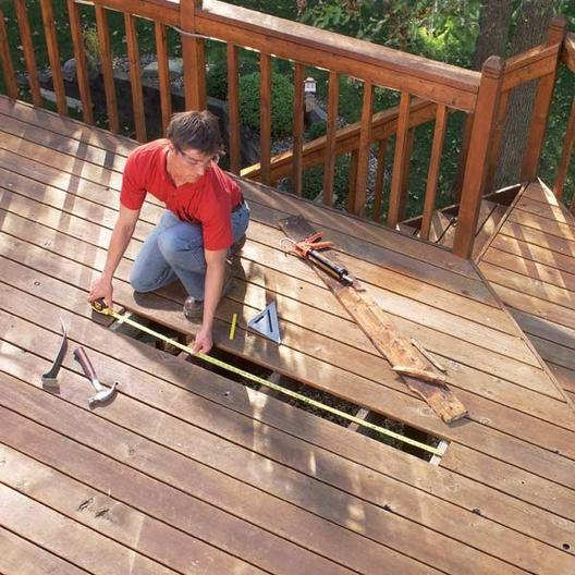 Qualified Deck and Patio Repair Services | Handyman Services of McAllen