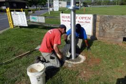 Affordable Flag Pole Installation Services and Cost | Lincoln Handyman Services