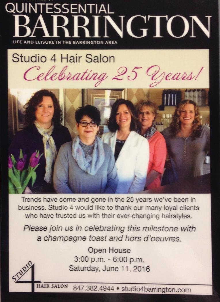 barrington hair salon news i studio 4 hair salon barrington il 60010